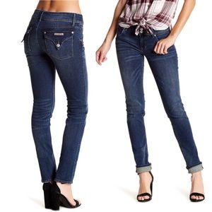 Hudson's Collin Flap Skinny Jeans. Size 26.